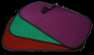 Коврик теплый STEM ENERGY 86*56 бордо, зеленый, фиолетовый